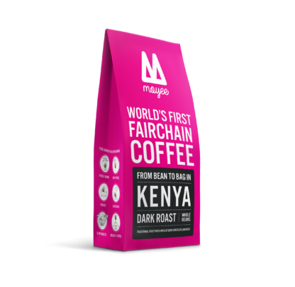Afrikanischer Dark Roast Kaffee